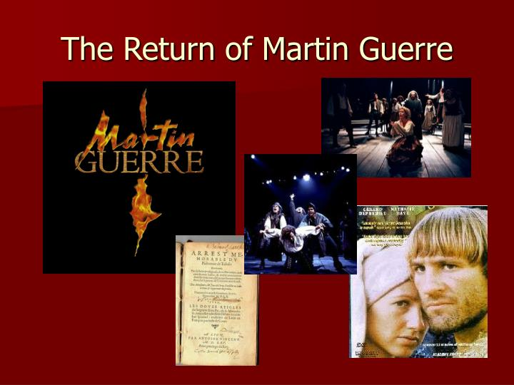 The return of martin guerre1