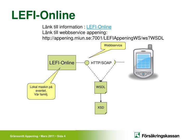 LEFI-Online