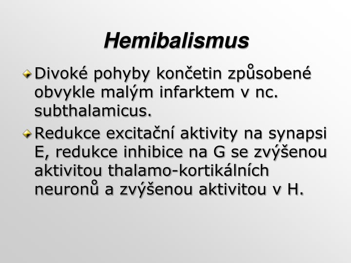 Hemibalismus