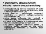k p edchoz mu obr zku funk n jednotka neuron a neurotransmittery