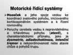 motorick d c syst my1