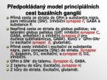 p edpokl dan model principi ln ch cest baz ln ch gangli