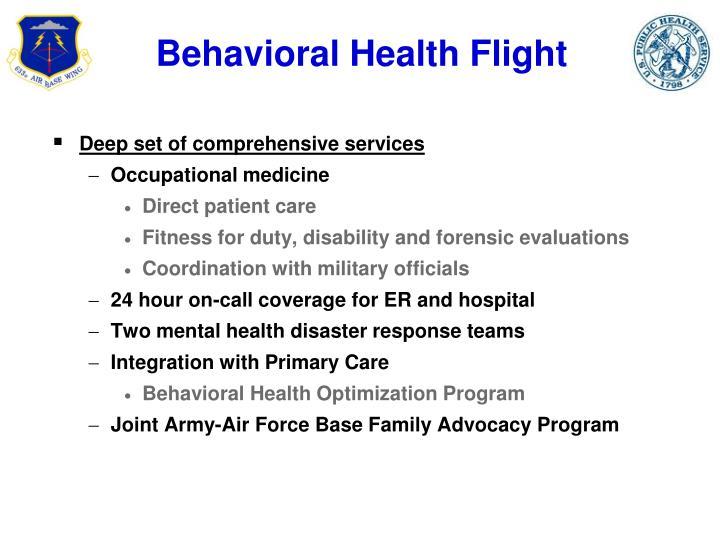 Behavioral Health Flight