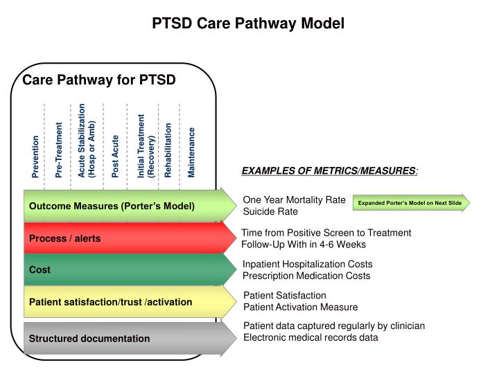 PTSD Care Pathway Model