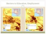 barriers to education employment