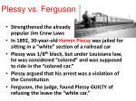 plessy vs ferguson