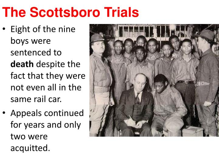 The Scottsboro Trials