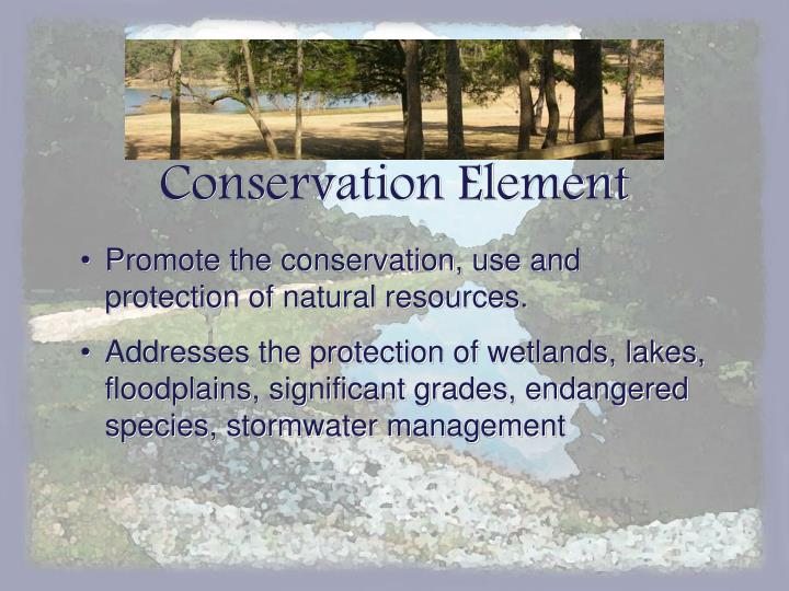 Conservation Element