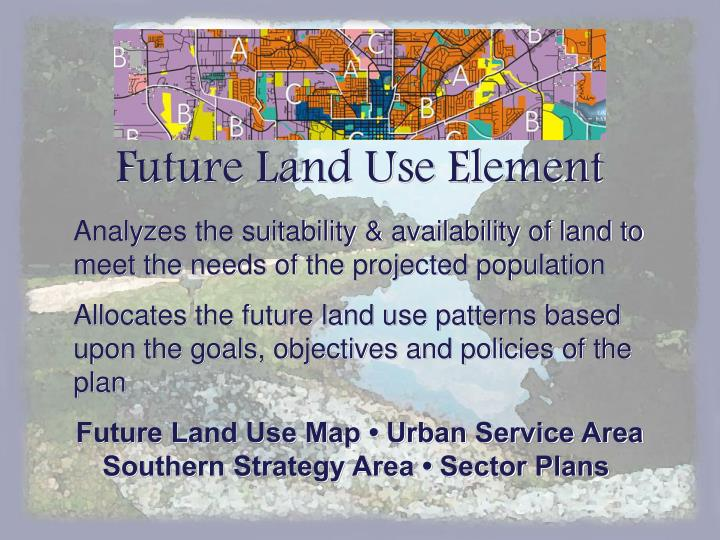 Future Land Use Element