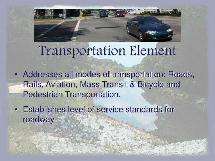 Transportation Element