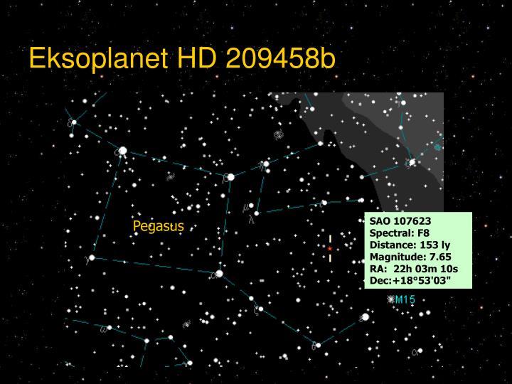 Eksoplanet HD 209458b