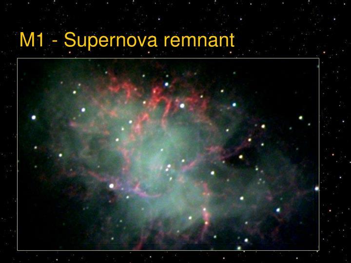 M1 - Supernova remnant