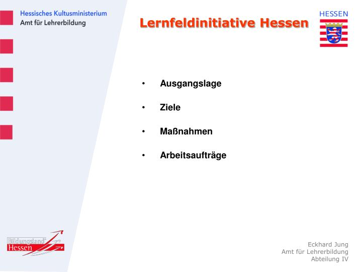 Lernfeldinitiative Hessen