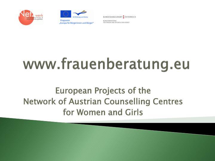 www.frauenberatung.eu