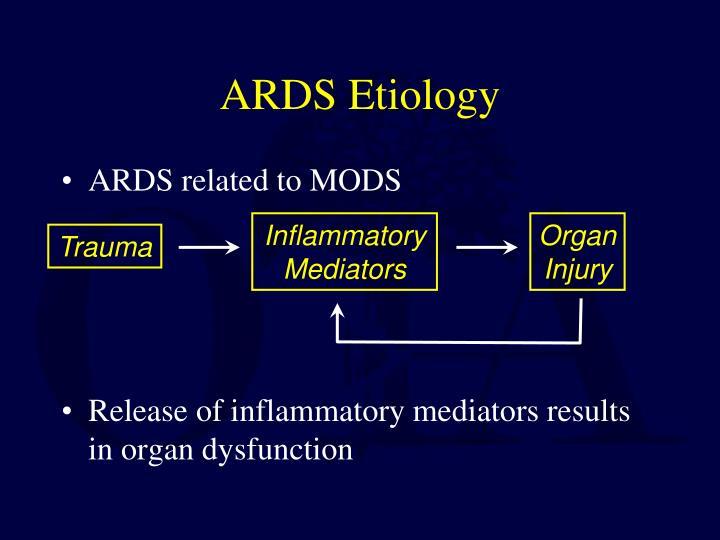 ARDS Etiology