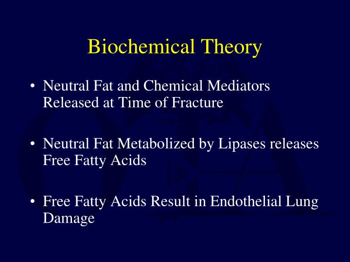 Biochemical Theory
