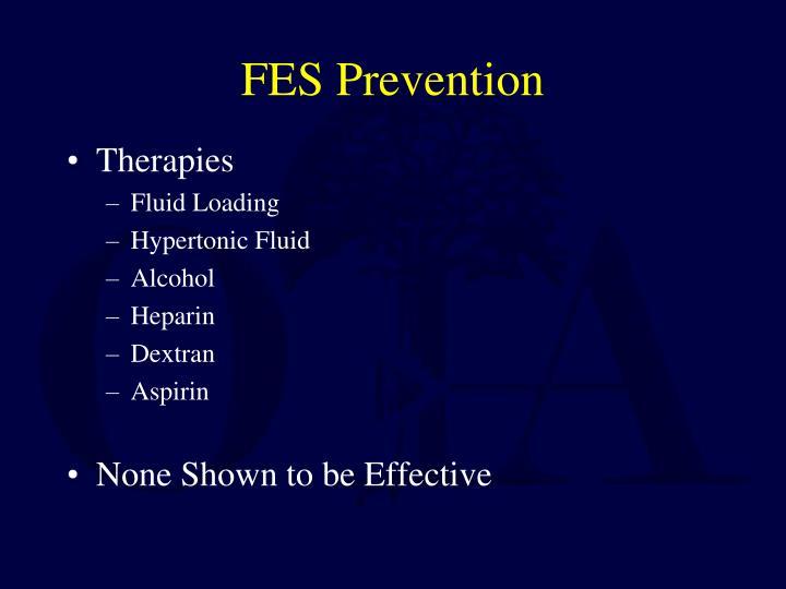 FES Prevention