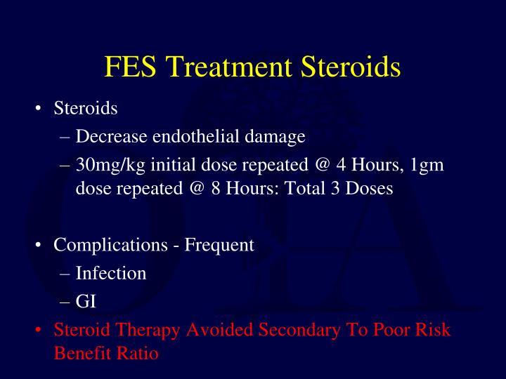 FES Treatment Steroids