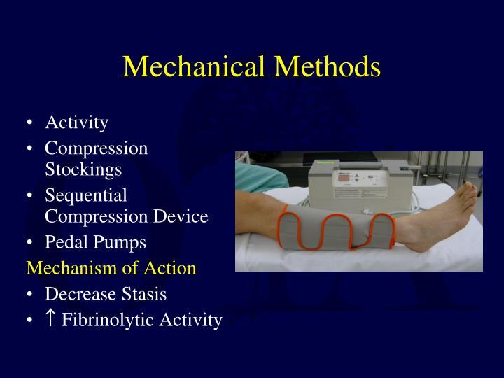 Mechanical Methods
