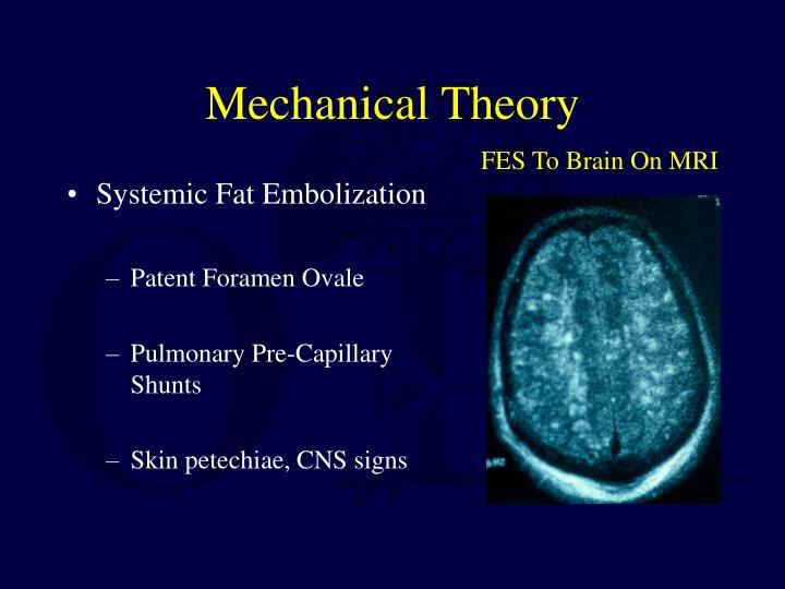 Mechanical Theory