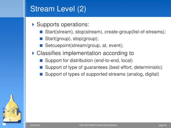 Stream Level (2)