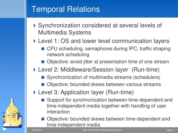 Temporal Relations