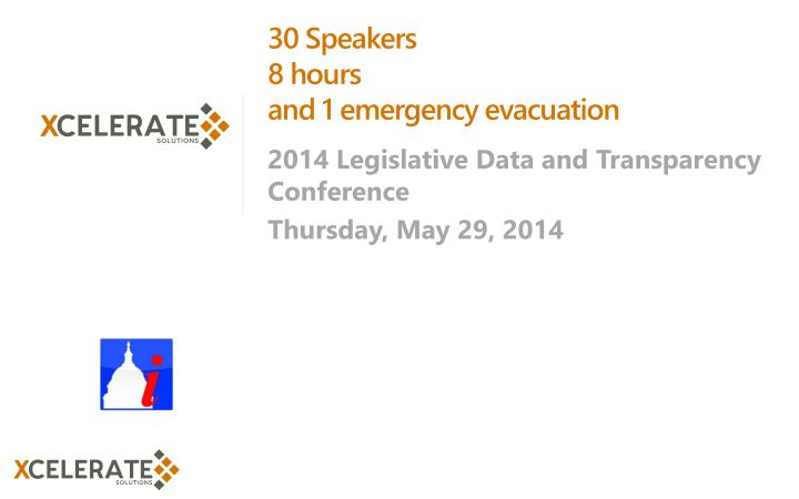 30 Speakers
