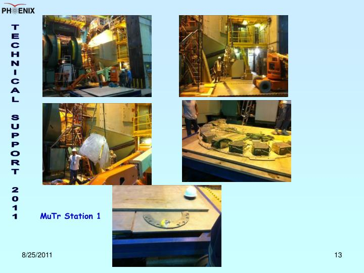 MuTr Station 1