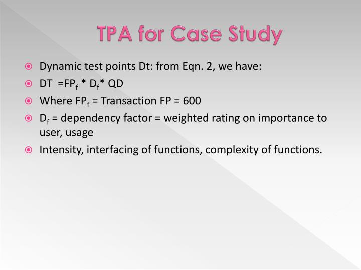 TPA for