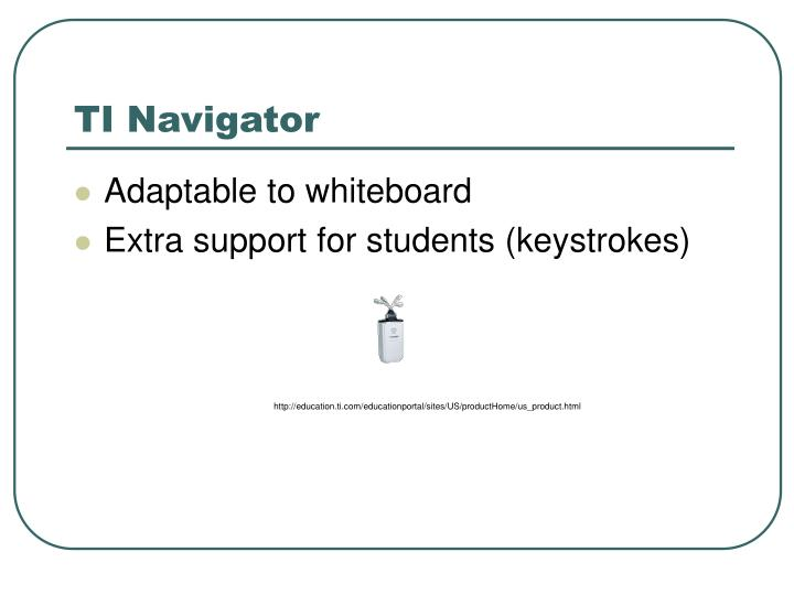 TI Navigator