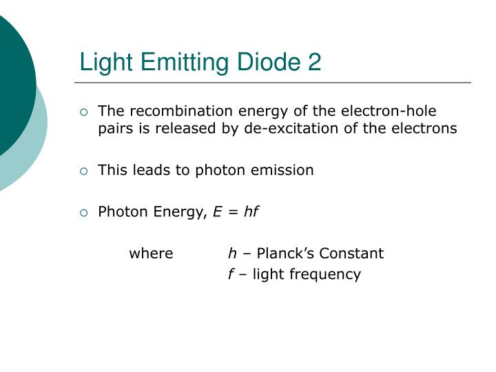 Light Emitting Diode 2