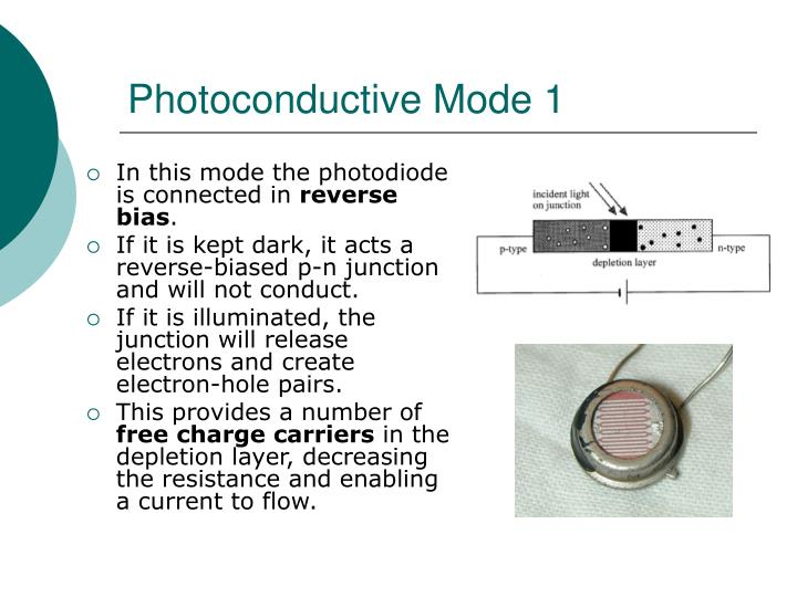 Photoconductive Mode 1