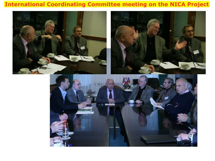 International Coordinating Committee meeting on the NICA Project