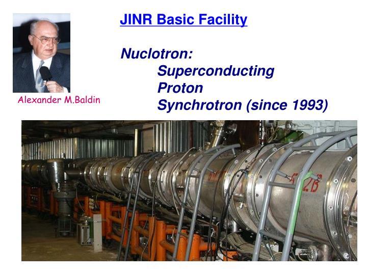 JINR Basic Facility
