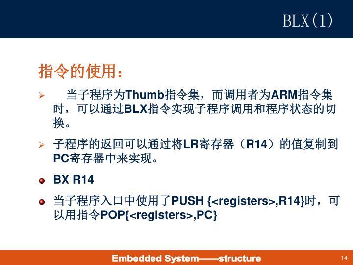 BLX(1)