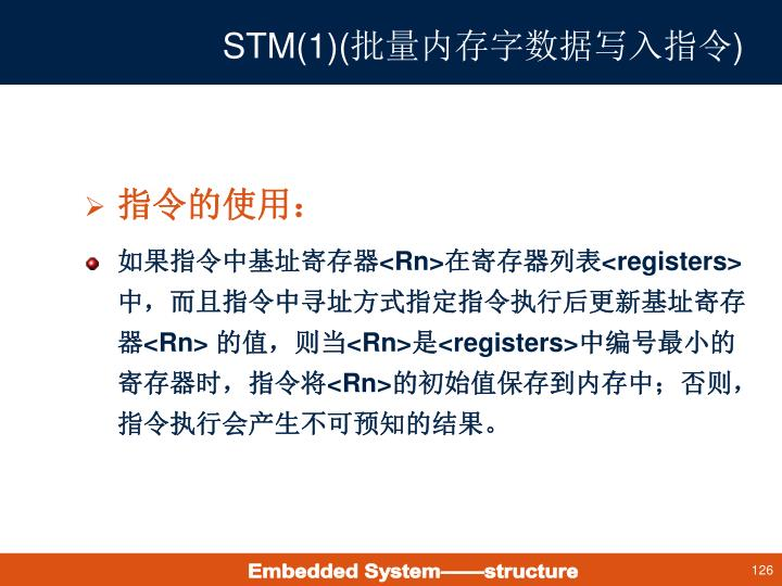 STM(1)(