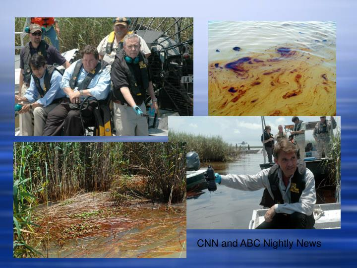CNN and ABC Nightly News