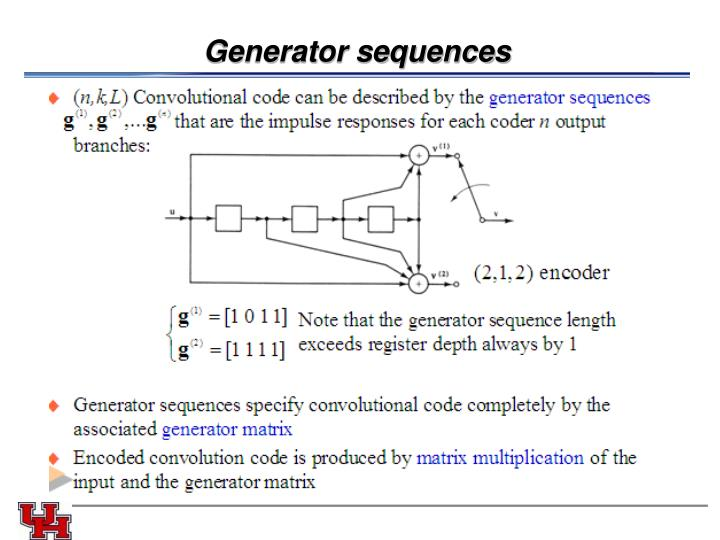 Generator sequences