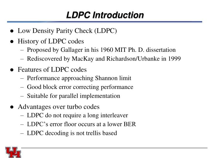 LDPC Introduction