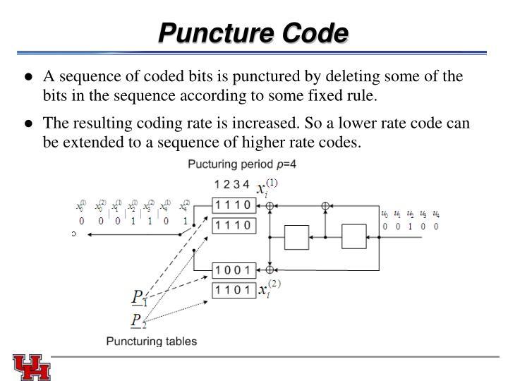 Puncture Code