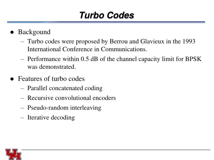 Turbo Codes