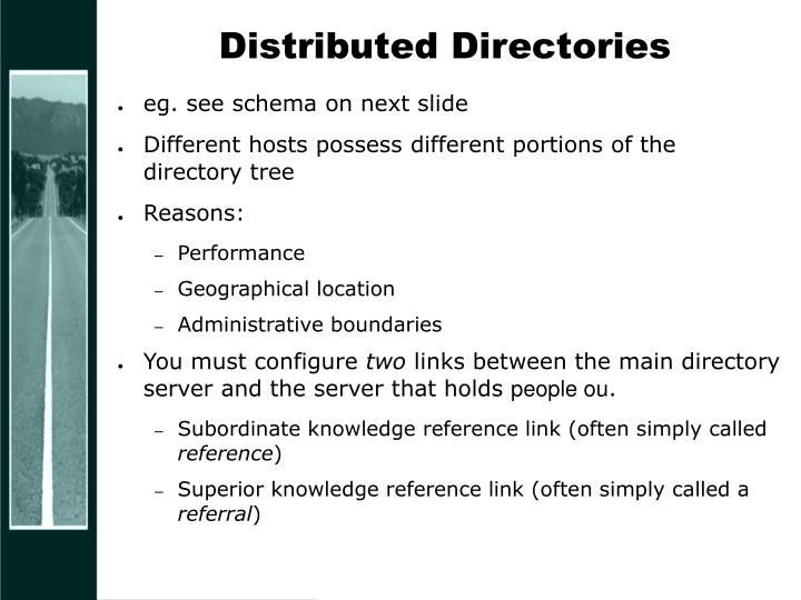 Distributed Directories