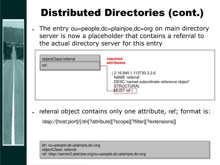 Distributed Directories (cont.)