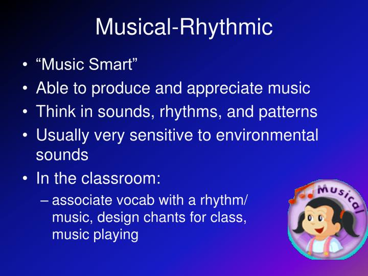 Musical-Rhythmic