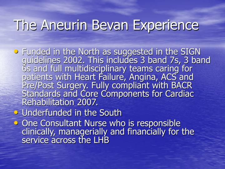 The Aneurin Bevan Experience