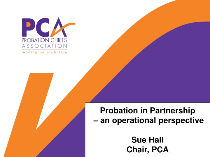Probation in Partnership