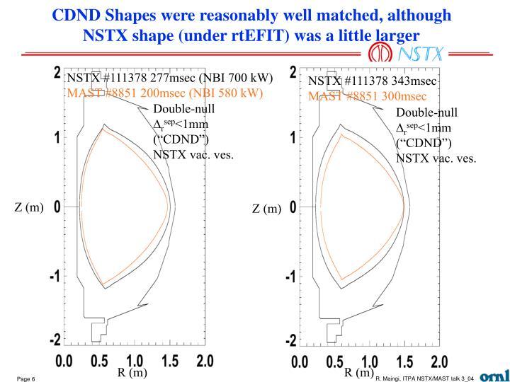 NSTX #111378 277msec (NBI 700 kW)