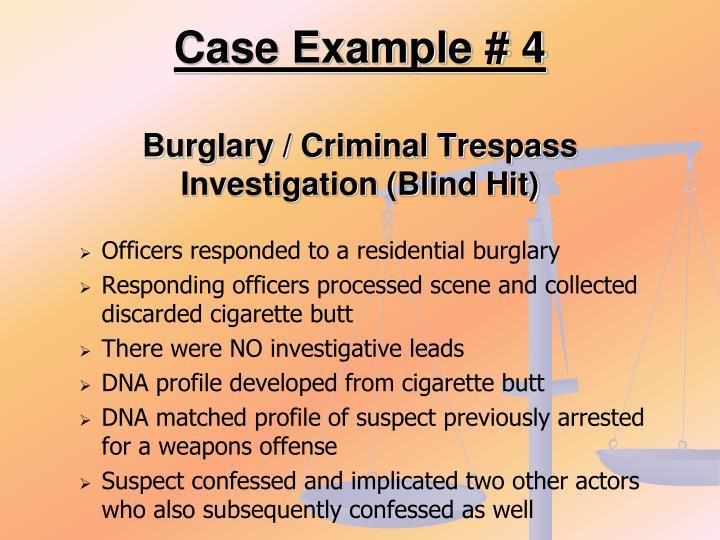 Case Example # 4