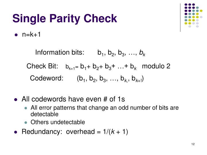 Information bits:       b