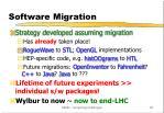 software migration